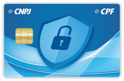 Smart Card para Certificado Digital Layout Exclusivo